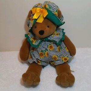 Russ Berrie Sunflower Bear